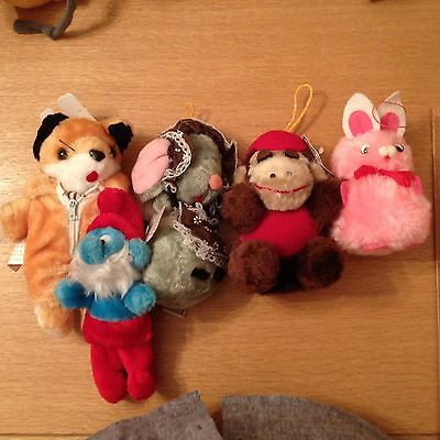 Collection of Soft Toys SOFT TOYs Cute Retro 1970/80s