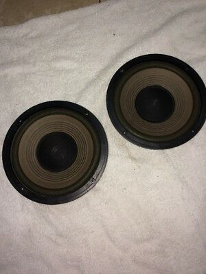 """Realistic Hi-Fi 8"""" Inch Woofers Great For DIY"""