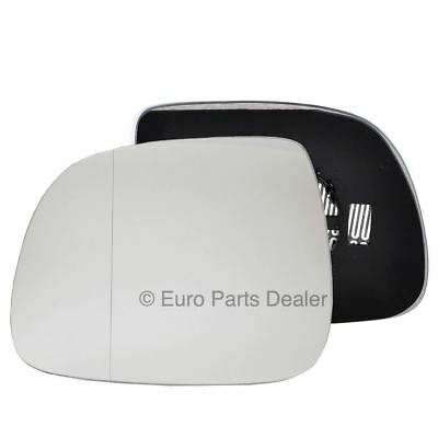 Passenger side Clip heated Wide Angle wing mirror glass for VW T5 10-16