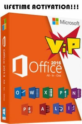 Microsoft Office 2016 Pro Professional Plus GENUINE PRODUCT KEY & DOWNLOAD LINK!
