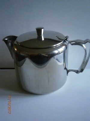 Retro 'Old Hall' Stainless Steel Teapot ( 1 & half pint)