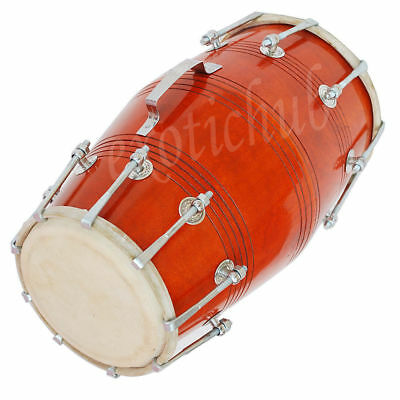Dholak Drums~18 Bolt Tuned~Made With Mango Wood~Dholki~Yoga~Bhajan~Kirtan~Chant~