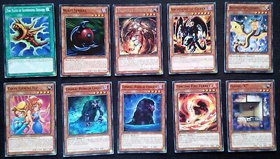 YU-GI-OH!!!! 10 CARDS COLLECTIBLES 1st EDITION