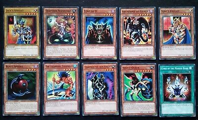 YU-GI-OH! 10 CARDS COLLECTIBLES 1st EDITION