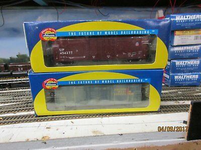 HO SCALe Athearn box carsx2  50ft box cars up&gws