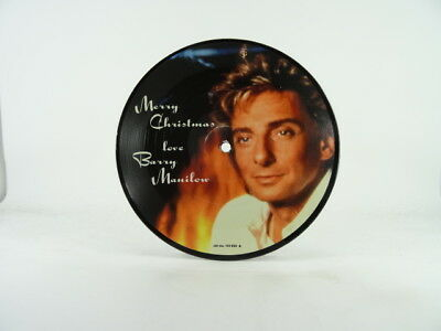BARRY MANILOW - PICTURE VINYL, JINGLE BELLS (DUET WITH EXPOSÉ), -/EX, 2 Track, 7