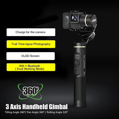 Zhiyun Smooth Q 3 Axis Handheld Gimbal Stabilizer For iPhone 8/8Plus/X Gopro 6/5