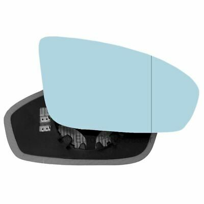 Driver side Clip Heated Wide Angle wing mirror glass for Jaguar XK 06-09