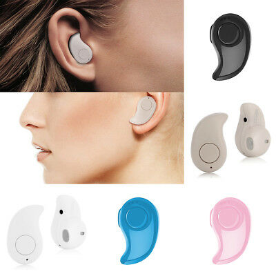 Mini Wireless Bluetooth Headphone Invisible Headset Earphone for iphone Samsung