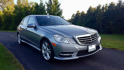 2013 Mercedes-Benz E-Class Luxury 2013 Mercedes-Benz E350 4Matic - Luxury