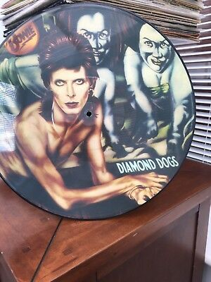 David Bowie Picture Disc Diamond Dogs