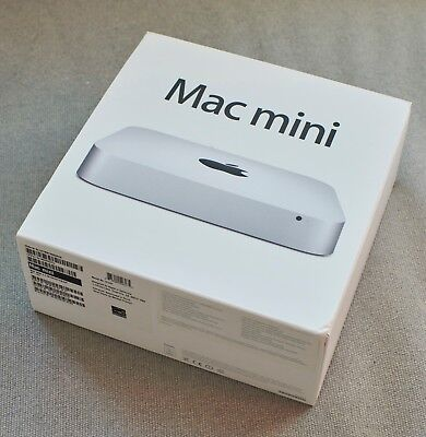 Mac Mini Late 2012 2.3GHz, quad core, i7, 16gb Ram,1TB hard drive