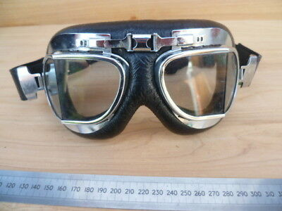 Vintage Old Motorcycle Goggles Set, Old Goggles (G811)
