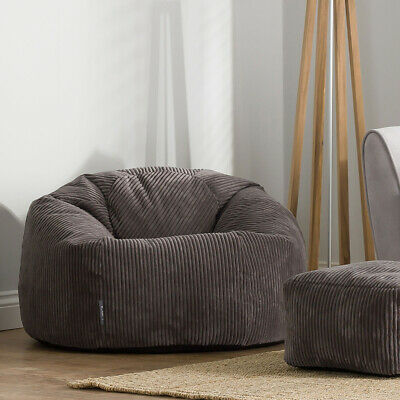 Sensational Luxury Wolf Arctic Faux Fur Bean Bag Extra Large Adult Bean Squirreltailoven Fun Painted Chair Ideas Images Squirreltailovenorg