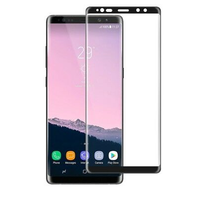 3D Curved 9H Tempered Glass Screen Protector For Samsung Galaxy Note 8