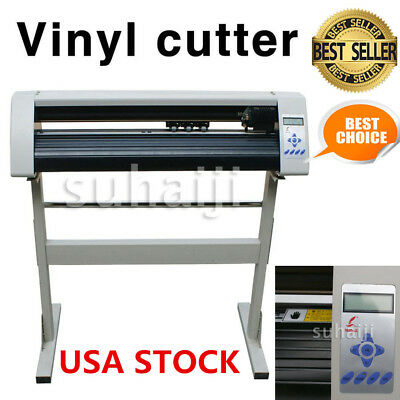 "24"" RS720C Redsail Vinyl Sign Sticker Cutter Plotter with Contour Cut Function"
