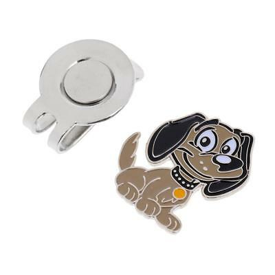 New Funny Dog Golf Ball Marker With Magnetic Hat Clip Golf Gifts