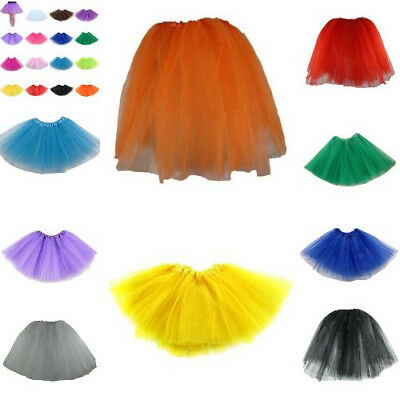 Elastic Stretchy Tutu Ballet Ruffle Bridal 3 Layer Skirts For Adults