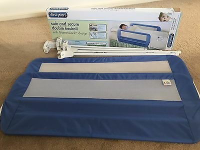 The First Year Safe And Secure Double Bed Rail For Child Kid Toddler