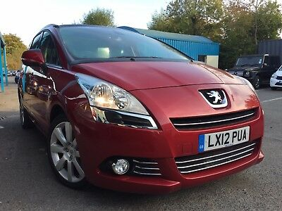 Peugeot 5008 1.6 E-Hdi Allure 7 Seats 5Dr Automatic Beautiful No Reserve Price!