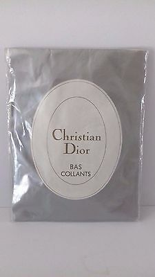 Christian Dior Panty Hose Size 40-42 Grey ?? Label Torn