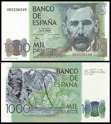 Facsimil Billete 1000 pesetas 1979 - Reproduction