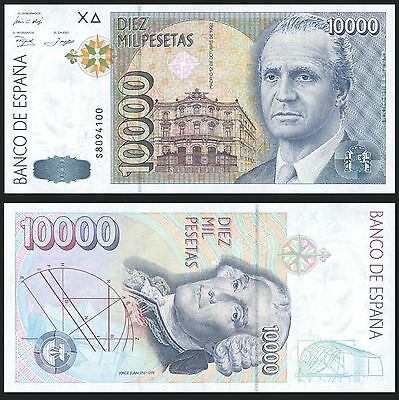 Facsimil Billete 10000 pesetas 1992 - Reproduction