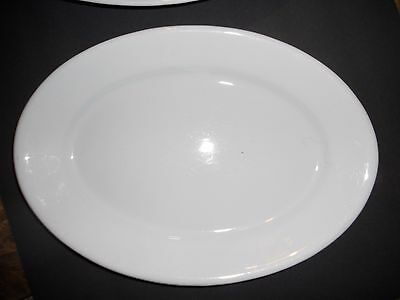 Cockson & Seddon. Imperial Ironstone Gothic Large Oval Serving Platter Antique