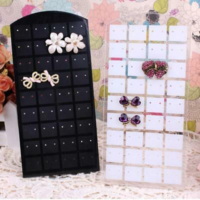 Jewelry Earring Holder Necklace Stand Showcase Rotating Display Organizer RackG