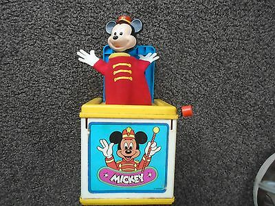 Mickey Mouse Martel Jack In The Box Collectable