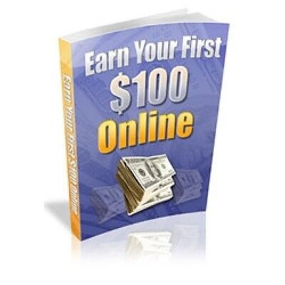 Earn Your First $100 Online with Master Resell Rights eBook PDF  Free Shipping