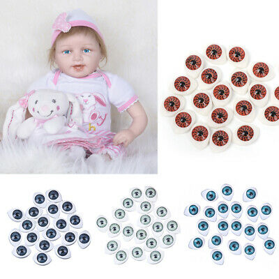 20X Plastic Teddy Doll Safety Eyes For Animal Toy Puppet Making DIY Craft