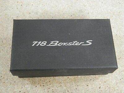 Porsche 718 Boxster S Limited Edition Paper Weight NIB