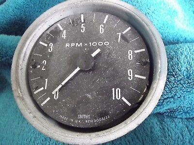 Smiths Tachometer, Rev Counter Rsm 3003/23 Spares Or Repair May Fit Triumph