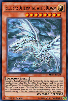 Blue-eyes Alternative White Dragon MVP1-EN046 1st Edition NM