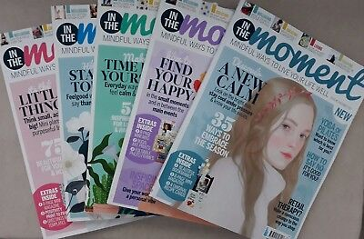 In The Moment Magazines X 5 July to November ( 3 as new, 2 used )