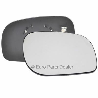 Right side Clip Heated Convex wing mirror glass for Land Rover Freelander 98-06