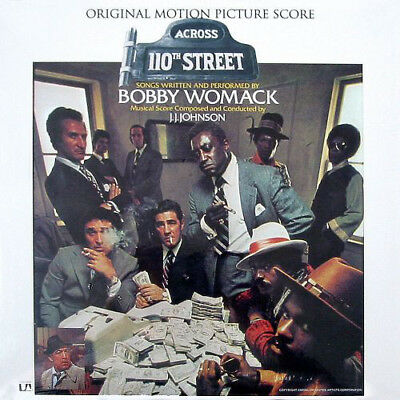 Bobby Womack, J.J. Johnson ‎– Across 110th Street  Soundtrack, Vinyl, LP, Album,