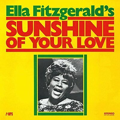 "Ella Fitzgerald  "" Sunshine Of Your Love ""  Vinyl Album Brand New Sealed"