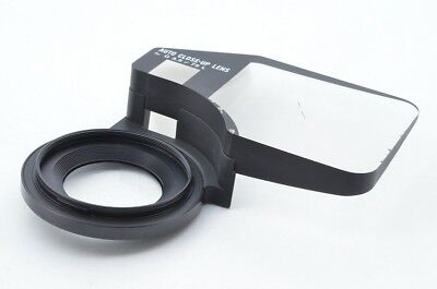 [Rare] MAMIYA 6 Auto Close Up Close-up Lens for G 75mm F/3.5 F3.5 from JAPAN