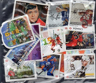 50 used stamps from canada 846