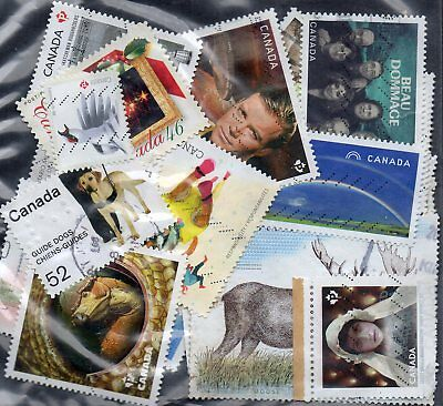 50 used stamps from canada 847