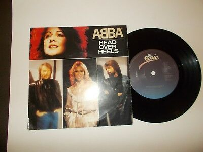 Head Over Heels / The Visitors  -  Abba        Free P&p