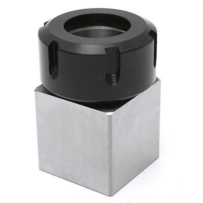 Hard Steel Square ER-32 Collect Chuck Block CNC Lathe Tool Holder