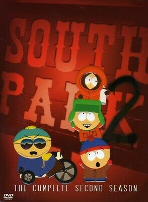 South Park - The Complete Second Season BRAND NEW DVD SET! STILL SEALED!!