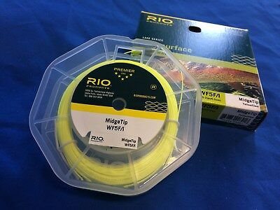 Rio NEW Midge Tip WF Fly Fishing Line Trout Fishing Weight Forward Midgetip