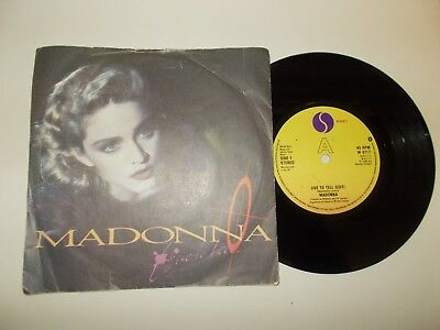 Live To Tell - Madonna  **free P&p**