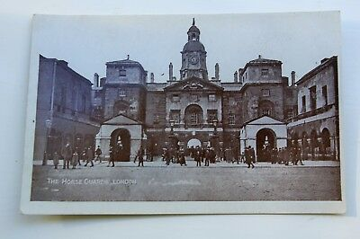 Early 20th Century  Postcard Horse  Guards London  VGC
