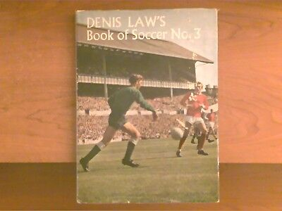 Denis Law's Book Of Soccer no.3 annual (1968)