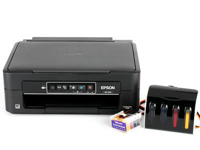 Epson Home XP-245 Inkjet Printer with CISS for Sublimation printing Bundle